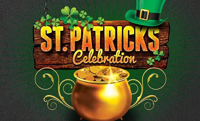 St. Patty's Day Saturday March 17th