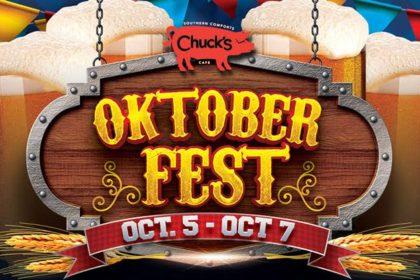 2nd Annual Chuck's Oktoberfest Weekend