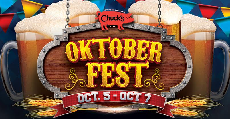 2nd Annual Chuck's Oktoberfest Weekend