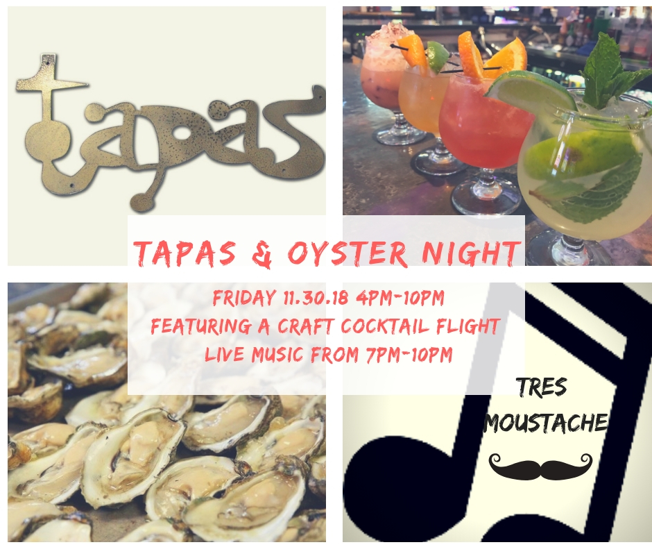 Tapas And Oyster Night