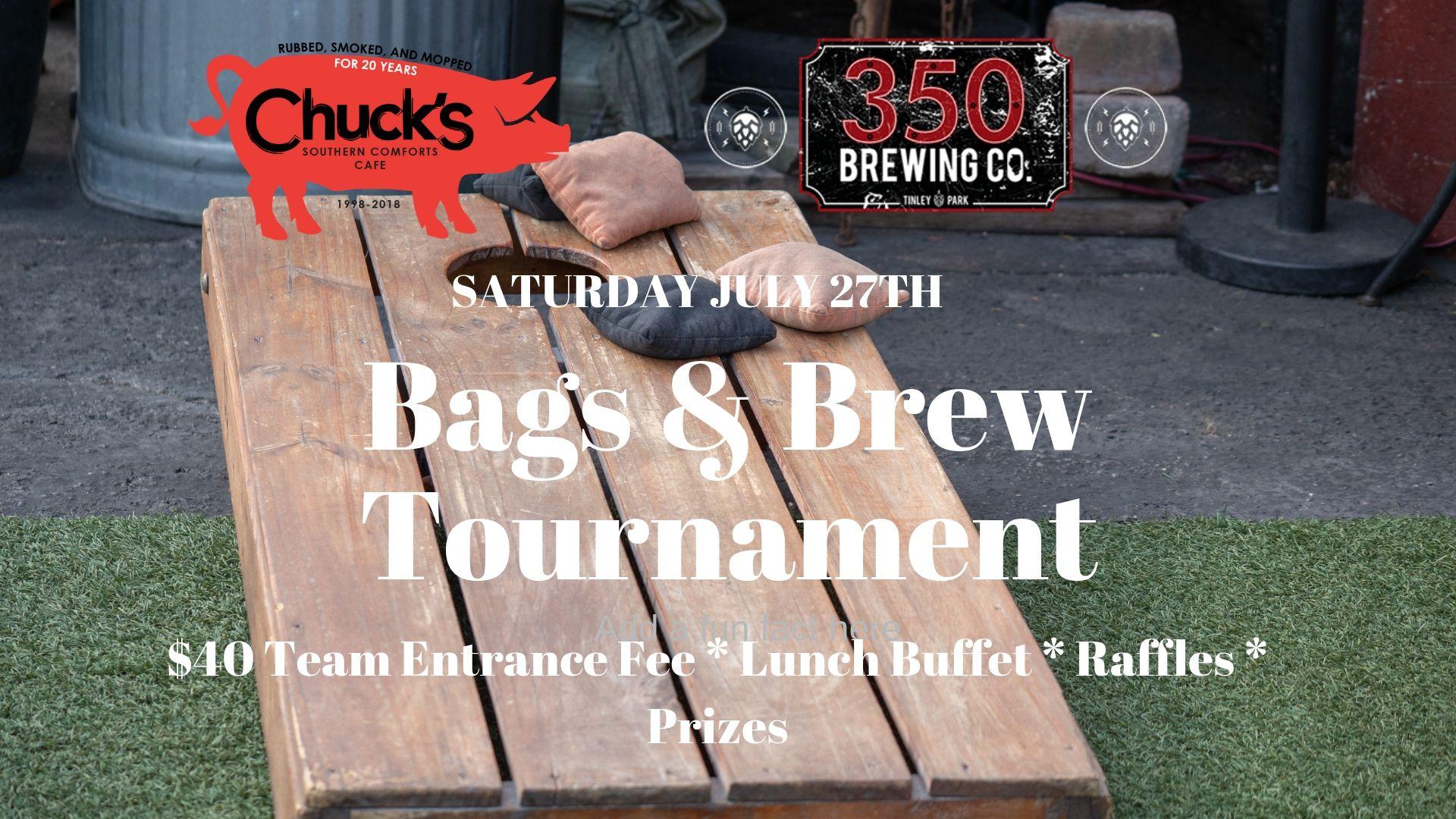Bags & Brews Tournament Saturday July 27th