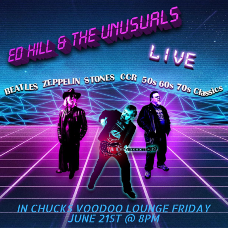 Friday June 21st @8pm Live Music