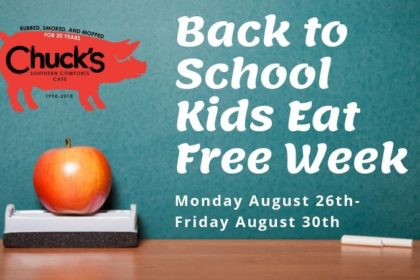 Back to School Kids Eat Free Week
