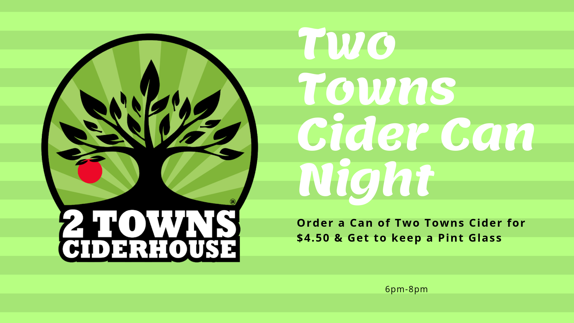 Two Towns Cider Pint Night