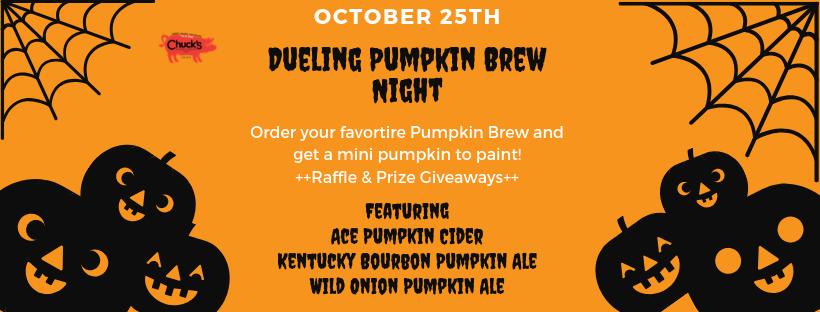Dueling Pumpkin Brew Night