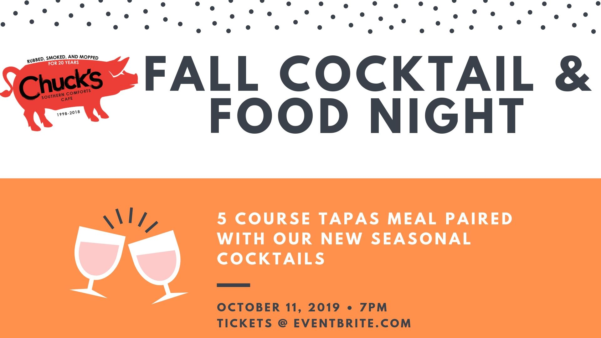 Fall Cocktail & Food Night