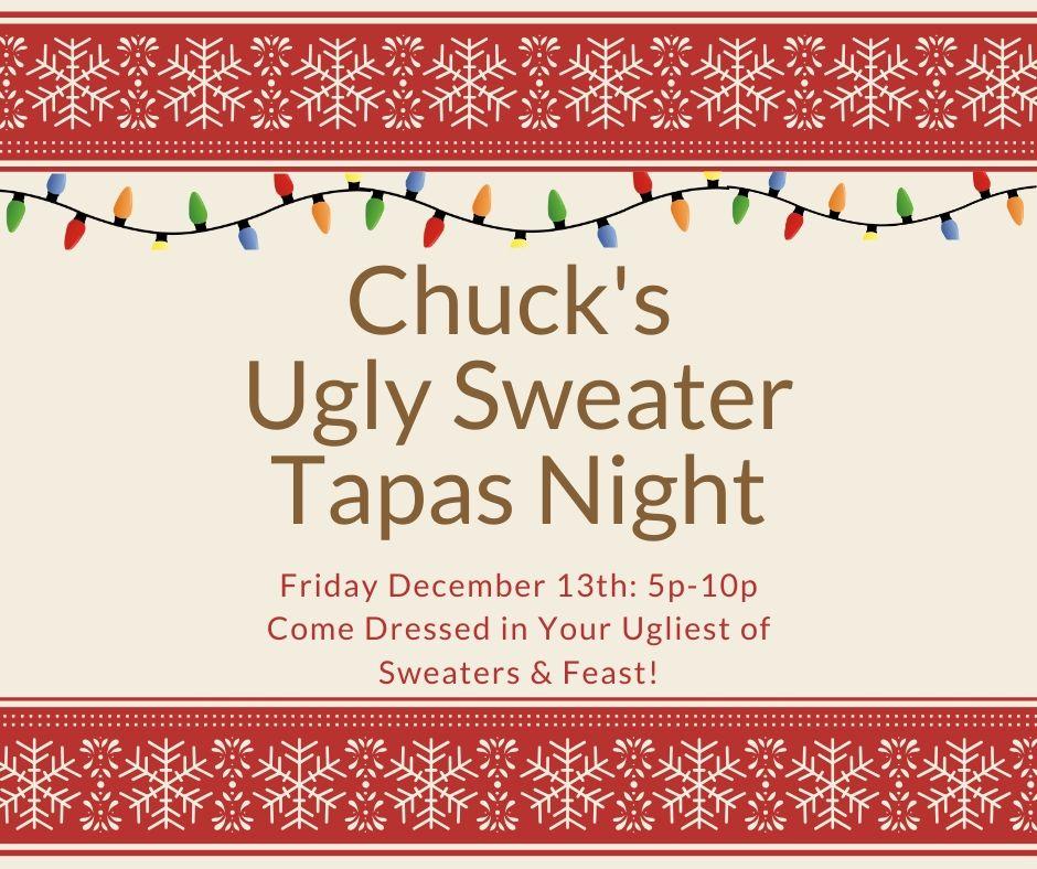 Ugly Sweater Tapas Night