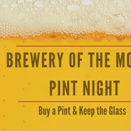 Brewery of the Month Pint Night
