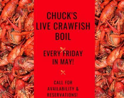 Chucks Live Crawfish Boil