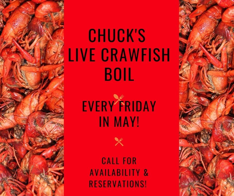 Chucks Live Crawfish Boil